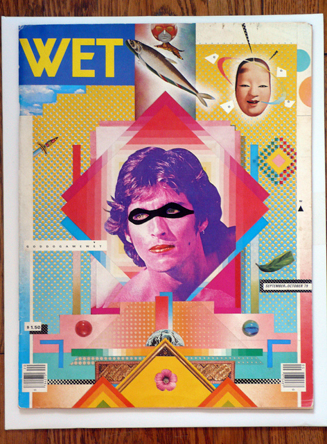 April Greiman. WET magazine, 1979.